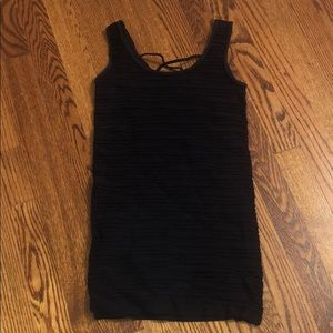 Ribbed Tight Spandex Bebe Dress